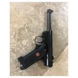 ruger .22 hand gun