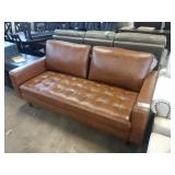 HOLLOWAY SOUTHWESTERN BROWN LEATHER