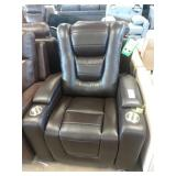 2X (2) MYLES BROWN POWER HOME THEATER RECLINERS