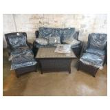 AGRIO HERITAGE COLLECTION 6 PC DEEP SEATING PATIO