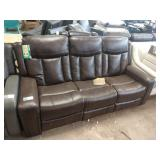 """STANDAGE 82"""" SOFA W/ DOUBLE RECLINERS"""