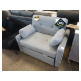 SERTA CASUALCONVERTIBLE CARMEL PULL OUT TWIN CHAIR