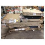 1 LOT, 9 BOXES ASSORTED BED COMPONENTS ON SKID ,