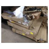 1 LOT, 9 ASSORTED BOXES OF FURNITURE COMPONENTS,