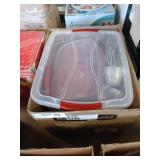 1 LOT, 3 BOXES OF ASSORTED RUBBERMAID SEALING