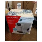 FRIGIDAIRE SILVER COUNTER TOP ICE MAKER W/ WATER