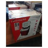 FRIGIDAIRE S.S. COUNTER TOP ICE MAKER IN RED