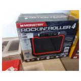 MONSTER ROCKIN ROLLER 4, 100 WATT RADIO