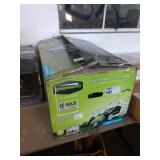 """GREEN WORKS 19"""" 40 VOLT MOWER W/ BATTERY AND"""