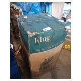 "ZINUS 10"" MEMORY FOAM KING MATTRESS PRESSURE"