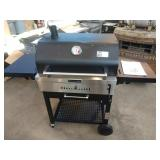 """KITCHEN AID 30"""" CHARCOAL GRILL ON ROLLING CART,"""