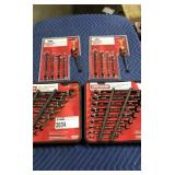 Lot (4) Craftsman Wrench Sets: