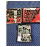Lot (3) Tool Sets: Craftsman 9 Pc. Combination