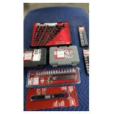 Lot 7 Craftsman Socket & Wrench Sets: (2) 13 Pc.