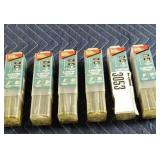Lot (6) Tubes, Makita SDS Drill Bits, Asst. Size,