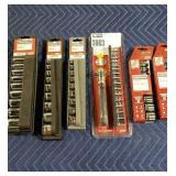 Lot (7) Craftsman Socket Sets: (4) 9 Pc. SAE & MM