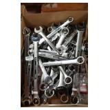 Large Lot Craftsman Combination Wrenches, SAE &