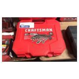 "Craftsman 81 Pc Gunmetal Chrome 1/4"" & 3/8"" D"