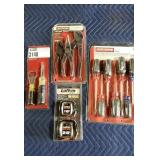 Lot (4) Tools/Sets: Craftsman 8 Pc. Screwdriver