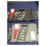 Lot (2) Craftsman 13 Pc. Combination Wrench Sets,