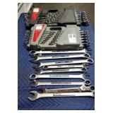 Lot (2) Craftsman 24 Pc. Combination Wrench Sets,