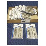 Lot Home Plus 2 Pc. Mini Locking Plier Sets,
