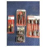 Lot (4) Tool Sets: Craftsman 8 Pc. Screwdriver