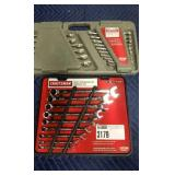 Lot (2) Craftsman Combination Wrench Sets, 26 Pc.