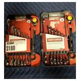 Lot (2) Craftsman 8 Pc. Dual Ratcheting Wrench