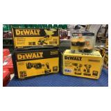 Lot 3 DeWalt 18V Tools & 2 Batteries: