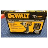 "DeWalt 12V Max 1/4"" Impact Driver Kit"