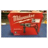 "Milwaukee 1/2"" Hammer Drill Kit, Corded"