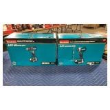 "Lot Makita 18V Impact Driver & 1/2"" Driver Drill"