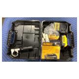 DeWalt Case w/ (3) 20V Max Batteries & Charger
