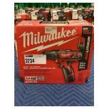 "Milwaukee M12 Cordless 3/8"" Hammer Drill Driver"
