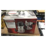 Craftsman 12Amp Router Combo Kit w/ Fixed Base &