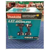 Makita 18V Sub Compact 2 Pc. Combo Kit: Driver