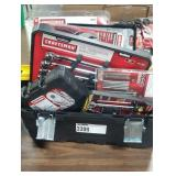 Lot Ace Tool Box & Contents: (12) Tools/ Sets