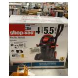 Shop Vac 4 Gallon, 5.5HP Wet/Dry Vac, Used,