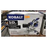 """Kobalt 10"""" Compact Sliding Dual-Bevel Miter Saw"""
