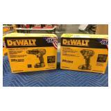 """Lot (2) DeWalt 20V Max Tools: 1/4"""" Impact Driver"""