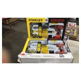 (2) Stanley 65 Pc. Project Kit & 20V B&D Drill