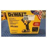 DeWalt 20V Compact Impact Driver Kit