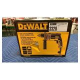 "DeWalt 1/2"" Single Speed Corded Hammer Drill"