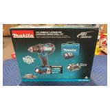 Makita 18V Compact Driver Drill Kit