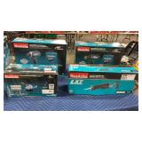 Lot Makita 18V 4 Pc. Tools: Drill Driver Kit,