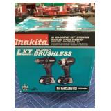 Makita 18V Sub Compact LXT 2 Pc. Combo Kit: