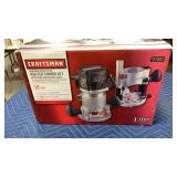 Craftsman 2HP 12 AMP Variable Speed Router Combo