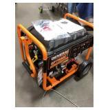 New Generac 7500 Watt Generator, Gas Powered,