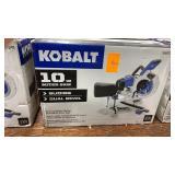 """Kobalt 10"""" Compact Sliding Dual/Bevel Miter Saw"""